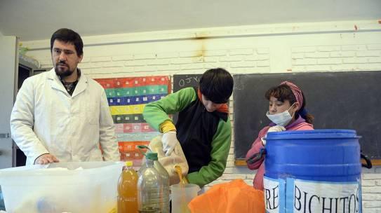 Microorganismos en la escuela